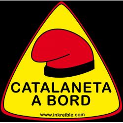 Adhesivo Catalaneta a Bord