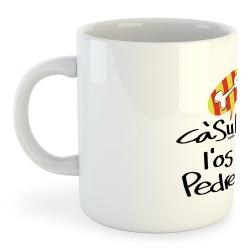 Taza Catalunya Casum l´os pedrer