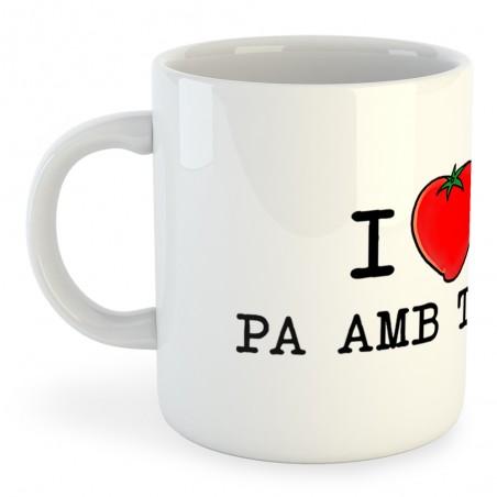 Taza Catalunya I Love Pa amb Tomata