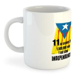 Taza Catalunya 11 de Setembre 2012