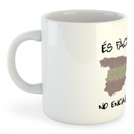 Taza Catalunya Es Facil No Encaixem