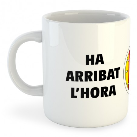 Taza Catalunya Rellotge Independencia
