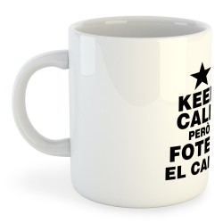 Tassa Catalunya Keep Calm pero Fotem el Camp