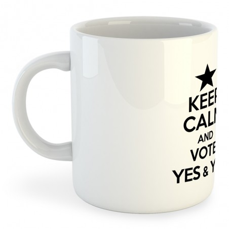 Taza Catalunya Keep Calm And Vote Yes