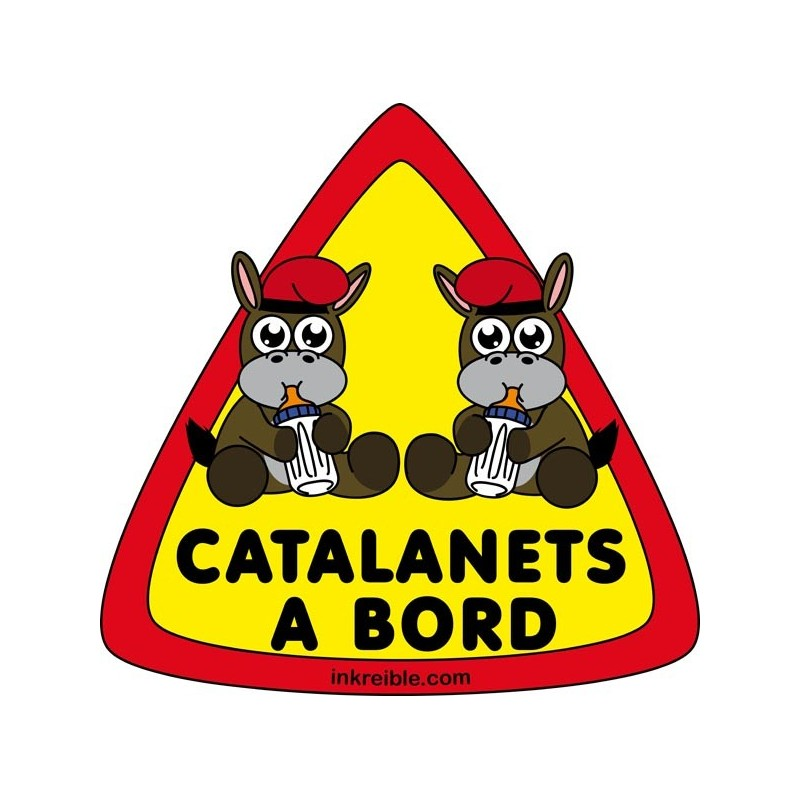Adhesivo Catalanets a Bord Exterior