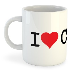 Taza Catalunya I Love CAT