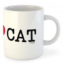 Taza Catalunya I Love CAT