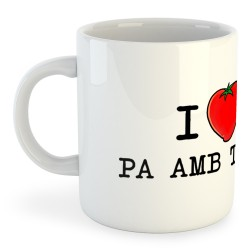 Tassa Catalunya I Love Pa amb Tomata