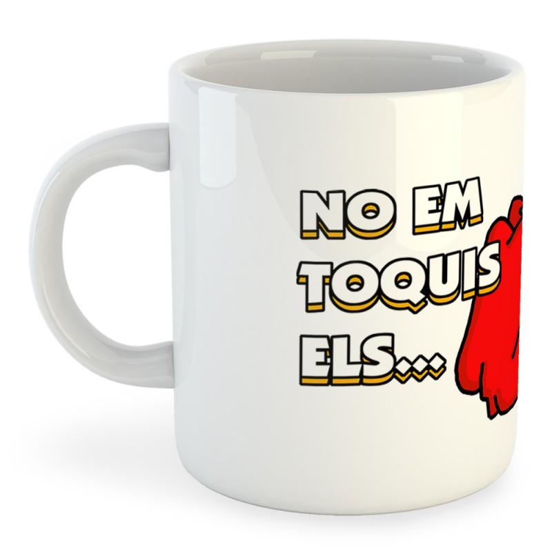 Taza Catalunya No Em Toquis els Pebrots