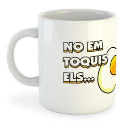 Taza Catalunya No Em Toquis els Ous