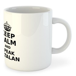 Taza Catalunya Keep Calm and Speak Catalan