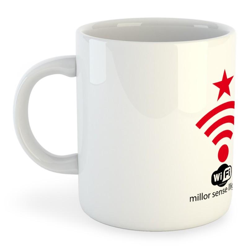 Taza Catalunya Wifi Independent