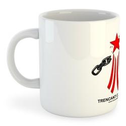 Taza Catalunya Via Catalana Trencant Cadenes